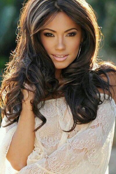 Love Her Hair And High Lights Highlights Latina Jessica Burciaga