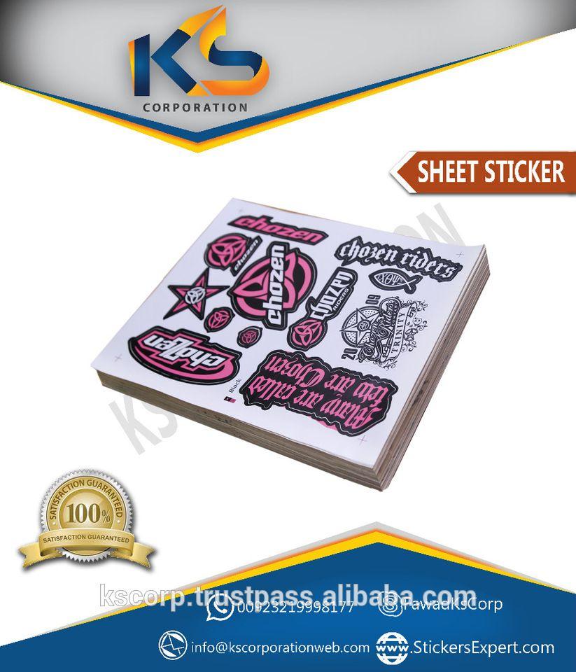 Custom A Sheet Die Cut Vinyl Stickers Buy Die Cut Stickers - Custom vinyl stickers laser cut