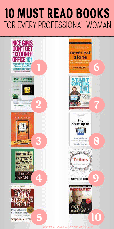 10 Must Read Books For Every Professional Woman  Books To -3702