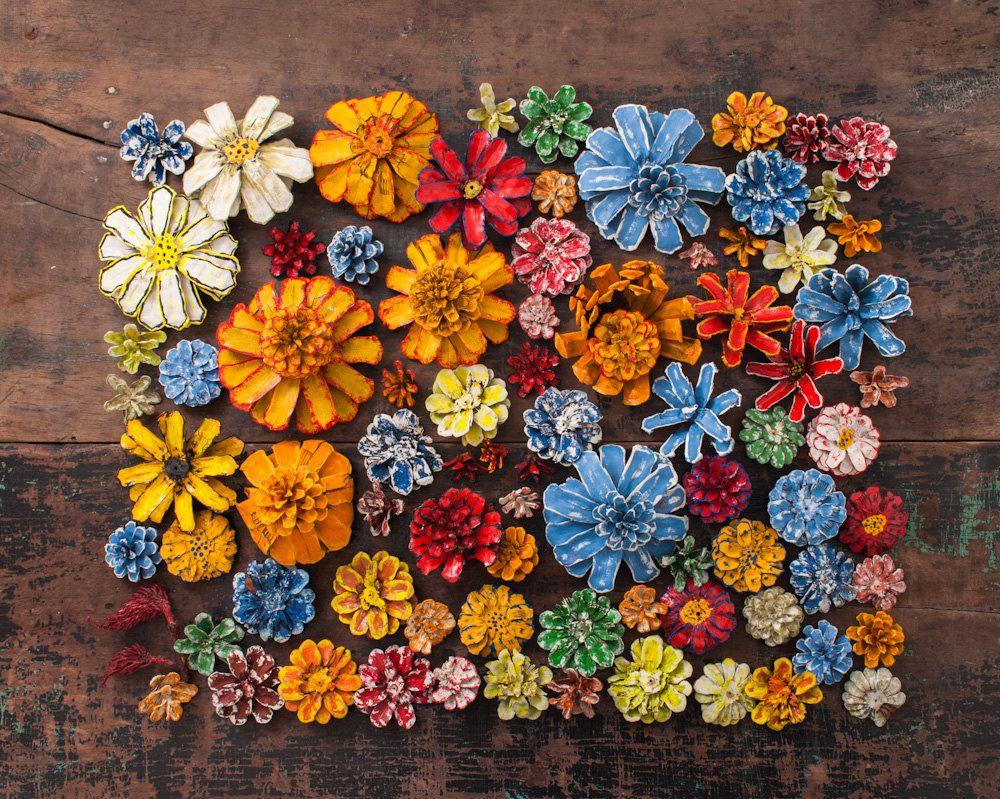 Pinterest Flowers: Best 25+ Painted Pinecones Ideas On Pinterest