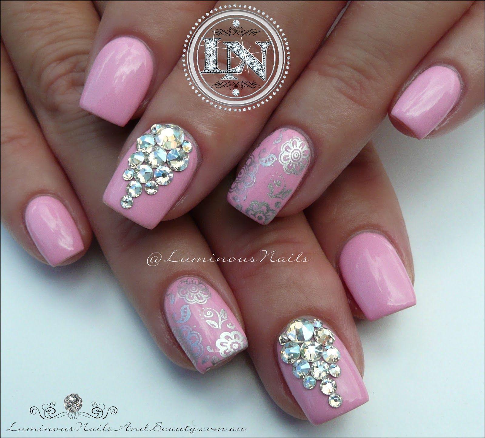 Pink Marshmallow Cuties... Acrylic Overlay with Gfa Marshmallow ...