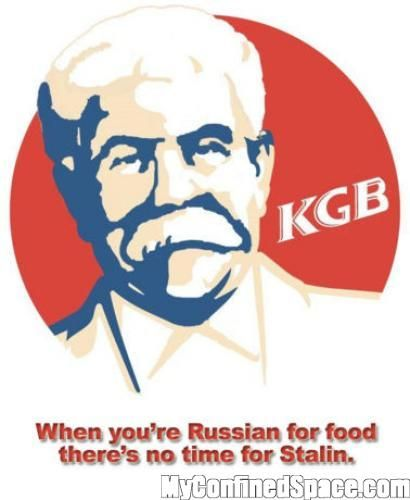 Kgb When You Re Russian For Food There S No Time For Stalin