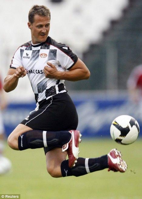 Michael Schumacher Football