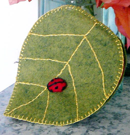 Just Because Free Pattern Leaf Needle Book