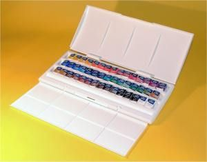 Winsor Newton Cotman Watercolour 45 Half Pan Studio Set Over 45