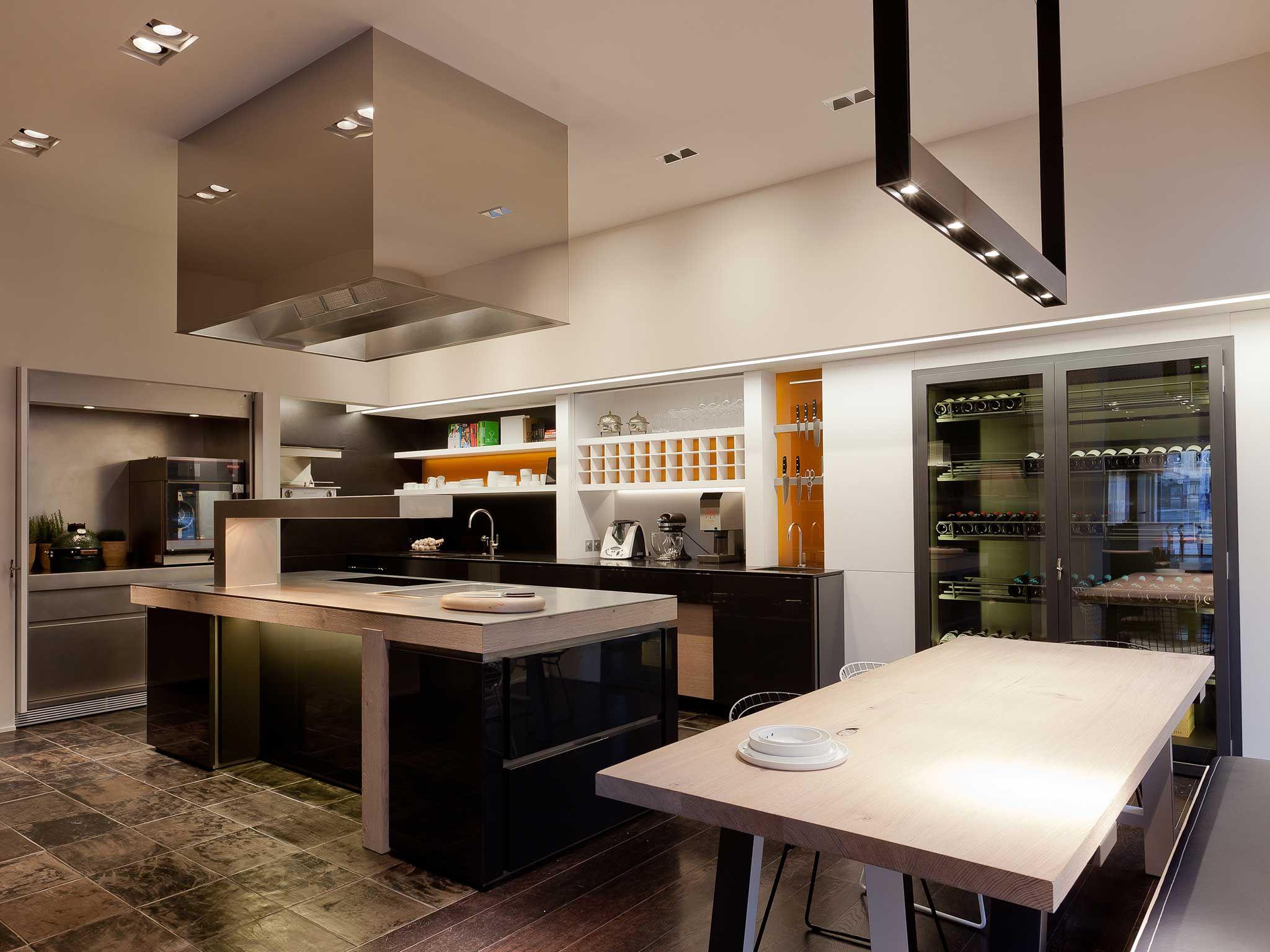 Obumex Professional Kitchen Bespoke Chef At Home Sergio Herman Architect Design Modern Kitchen Kitchen Design Obumex Kitchen