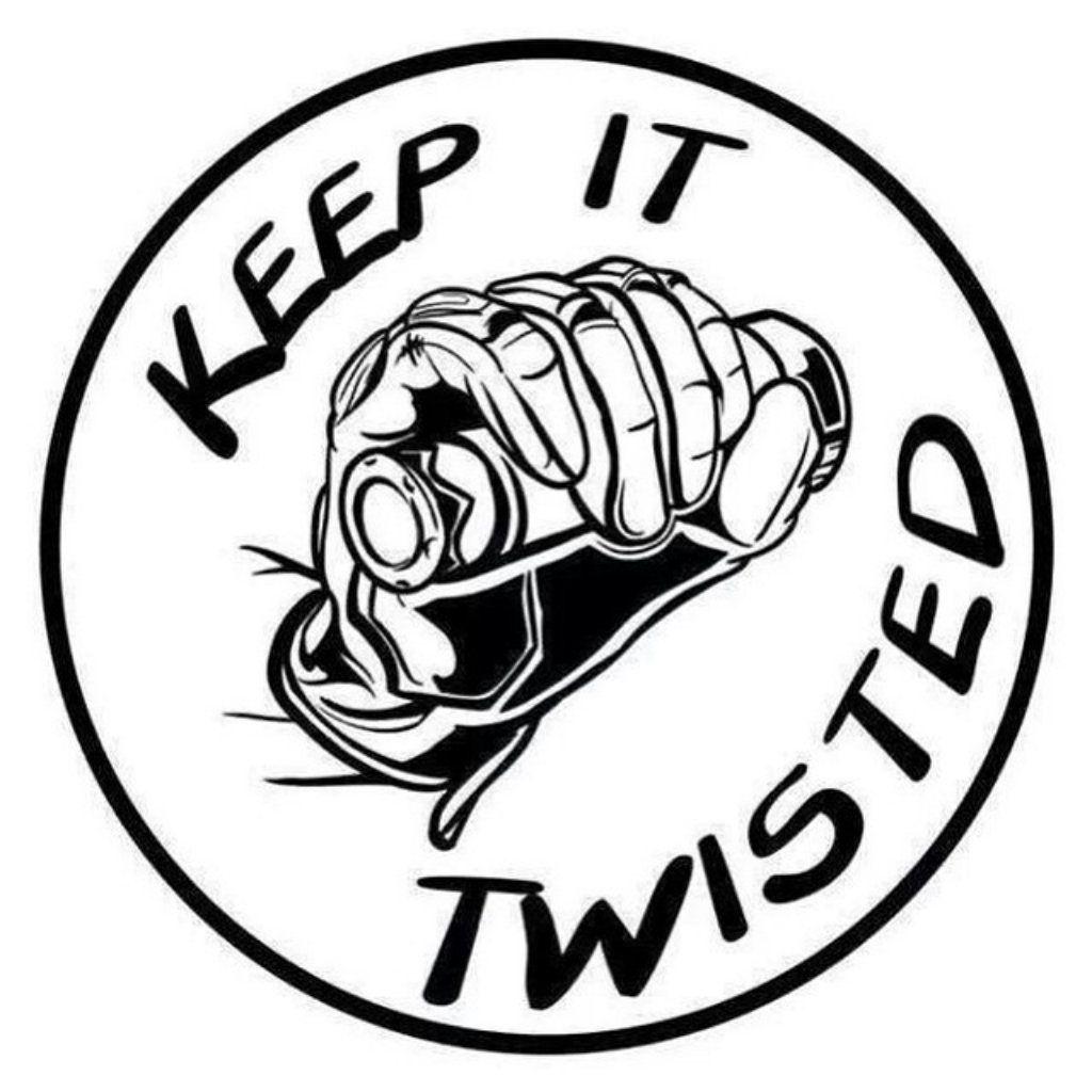 Keep It Twisted Sticker In