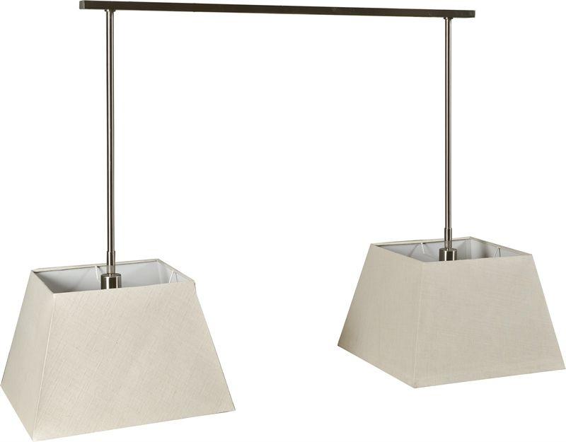Neptune Accessories Pendant Lights Hughes Double Pendant Lamp - Double pendant light kitchen