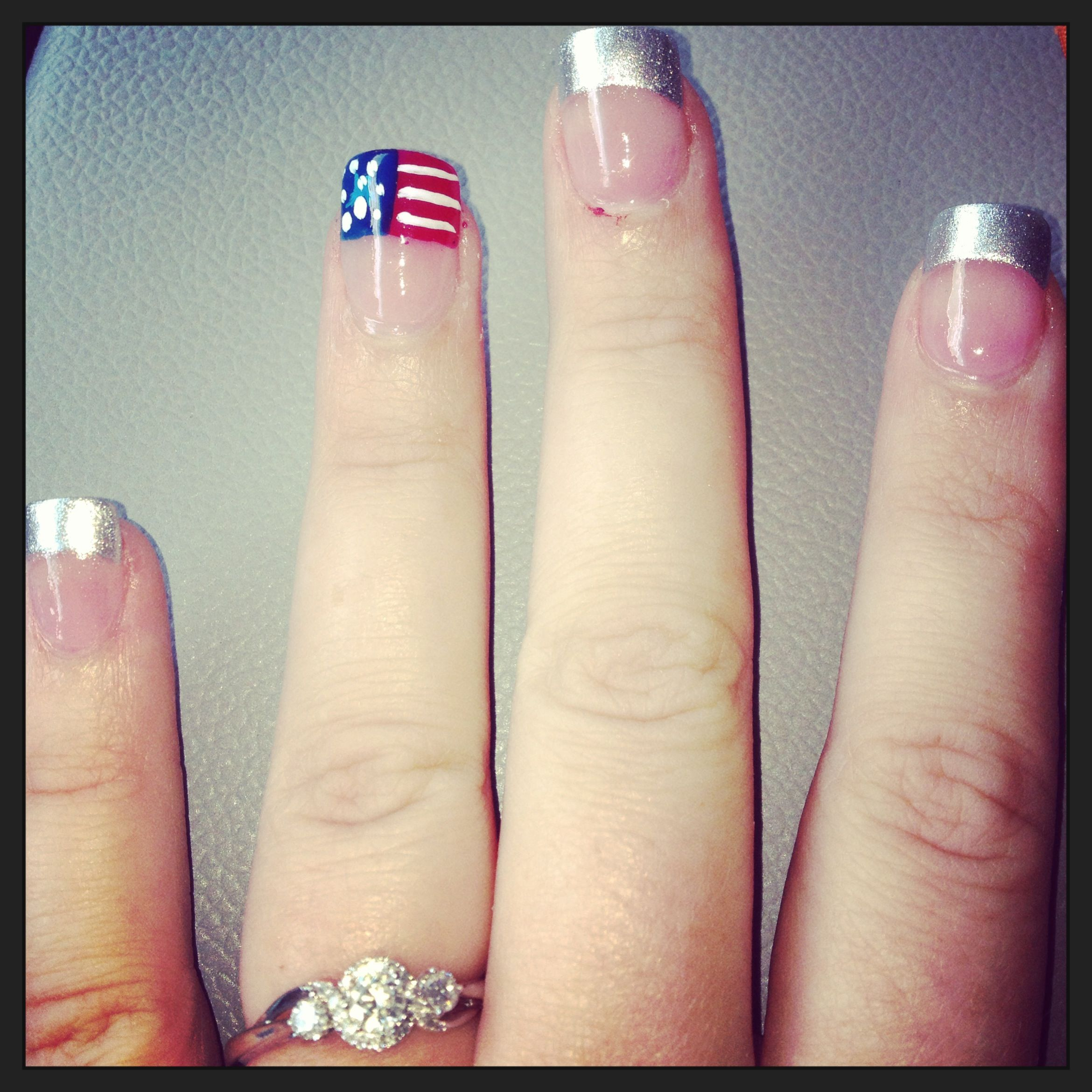 Air Force Graduation Nails (With images) Graduation