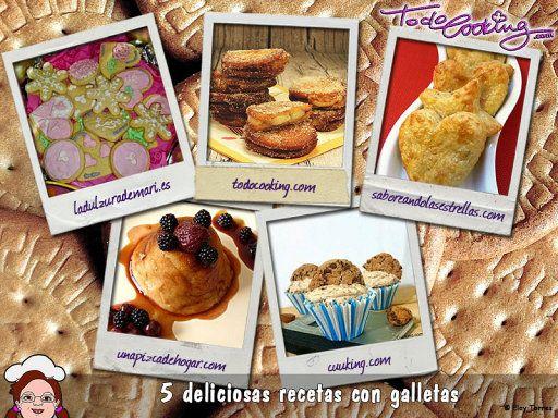 Deliciosas recetas con galletas   TodoCooking