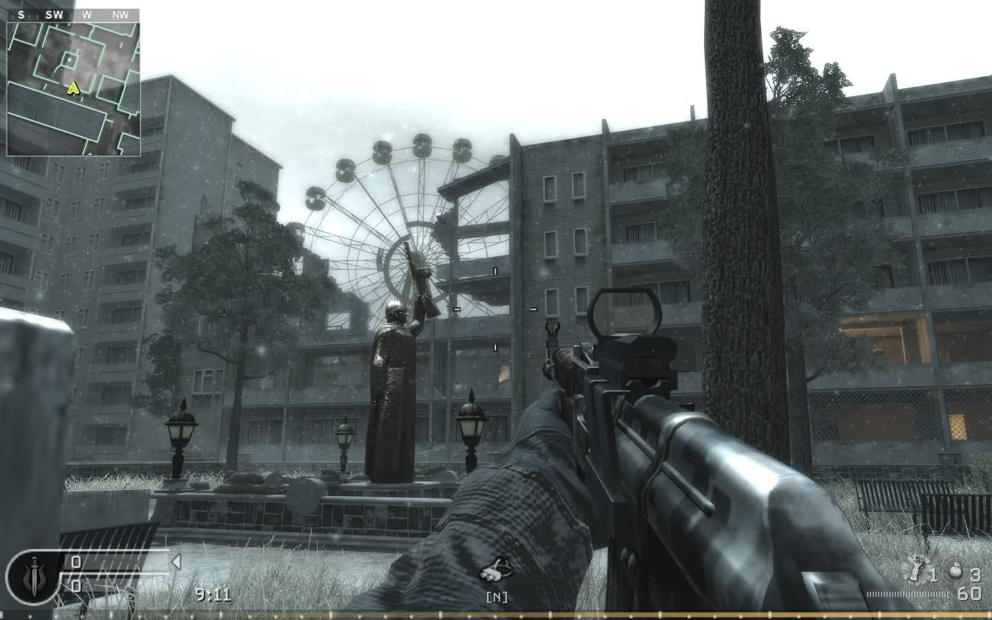 Bloc Is A Large Multiplayer Map In Call Of Duty 4 Modern Warfare