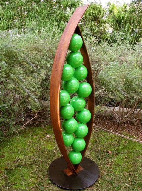 Charming Modern Patio Sculpture