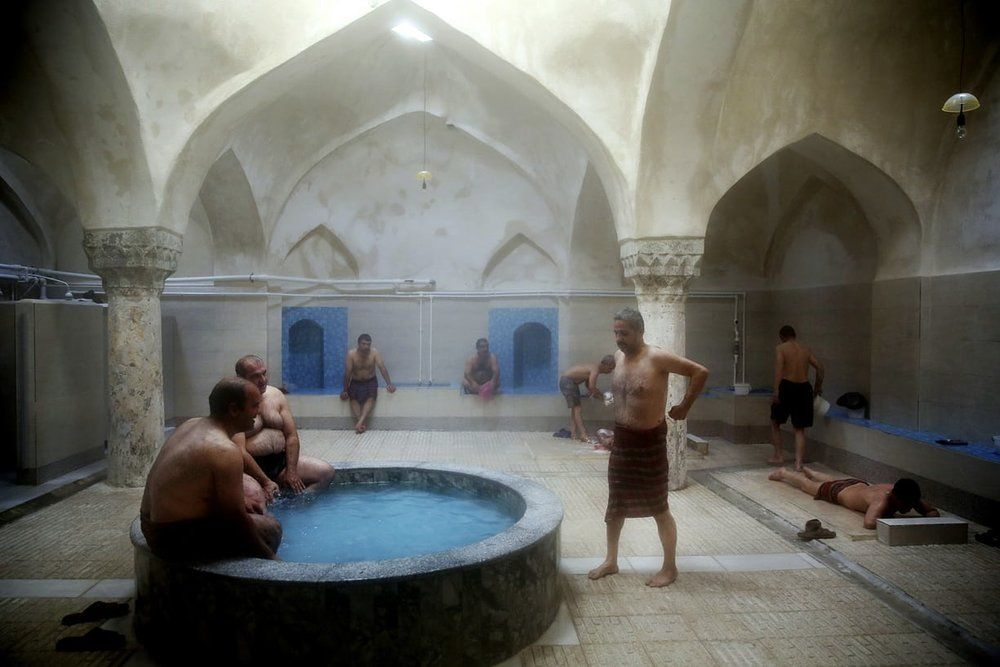Iranian bathhouse: A meeting place for cleaning up ...