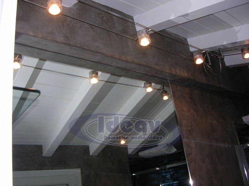 Faretti binario Illuminazione soffitto, Illuminazione a