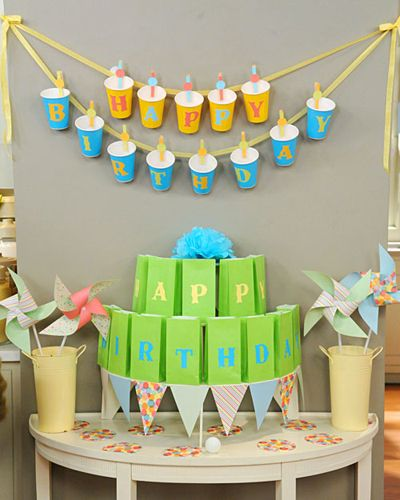 Easy Birthday Decorations Ideas Decorating Party Pinterest