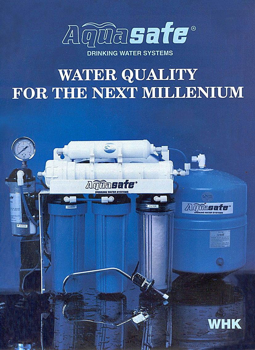 AQUAsafe AS50 Reverse Osmosis Water Purification System for
