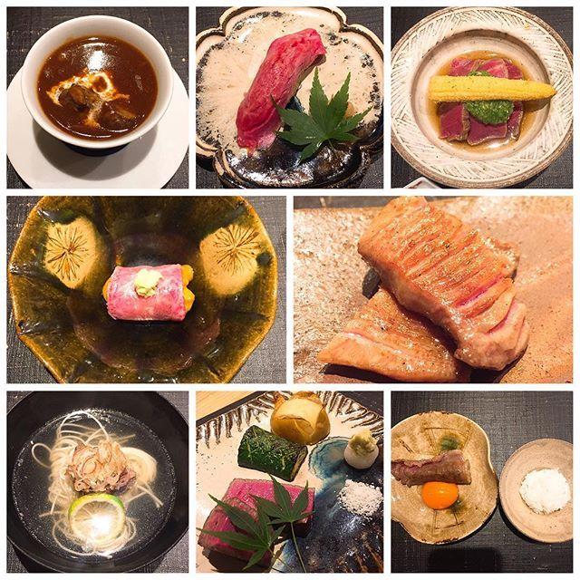 #おにく花柳 #花柳  #肉 #東京 #東京グルメ #グルメ #東京ミシュラン #ミシュラン #ディナー
