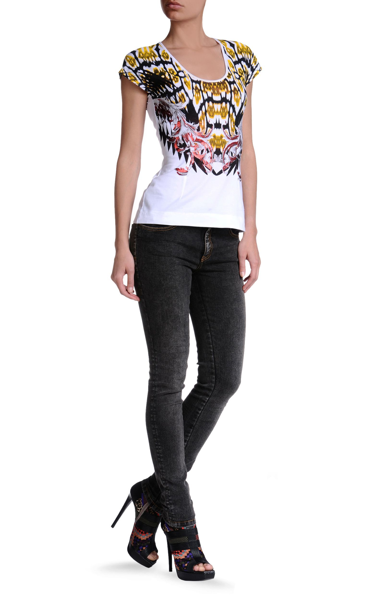 Short sleeve t-shirt Women - Topwear Women on Just Cavalli Online Store