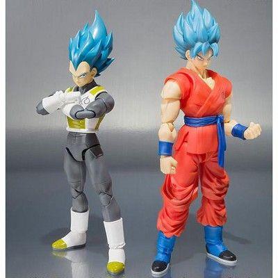 VEGETA SSGSS SUPER SAIYAN GOD DBZ Dragon Ball Z Bandai Tamashii SHF S.H.Figuarts