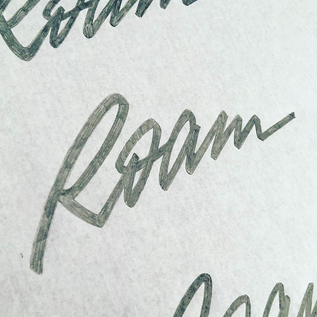 Awesome script logo by @sergeyshapiro   #typegang - typegang.com   typegang.com #typegang #typography