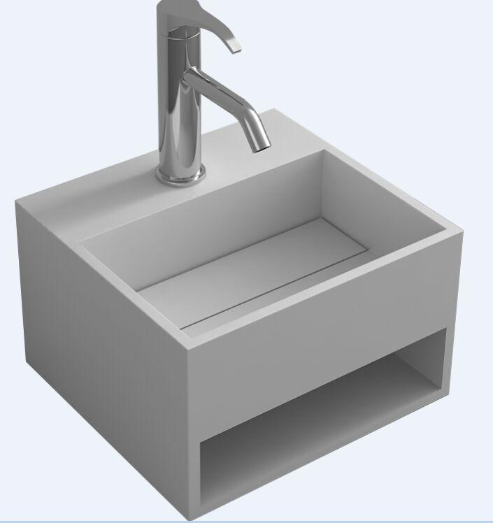 Type Wall Hung Sinks Basin Shape Rectangular Brand Name Tuboom