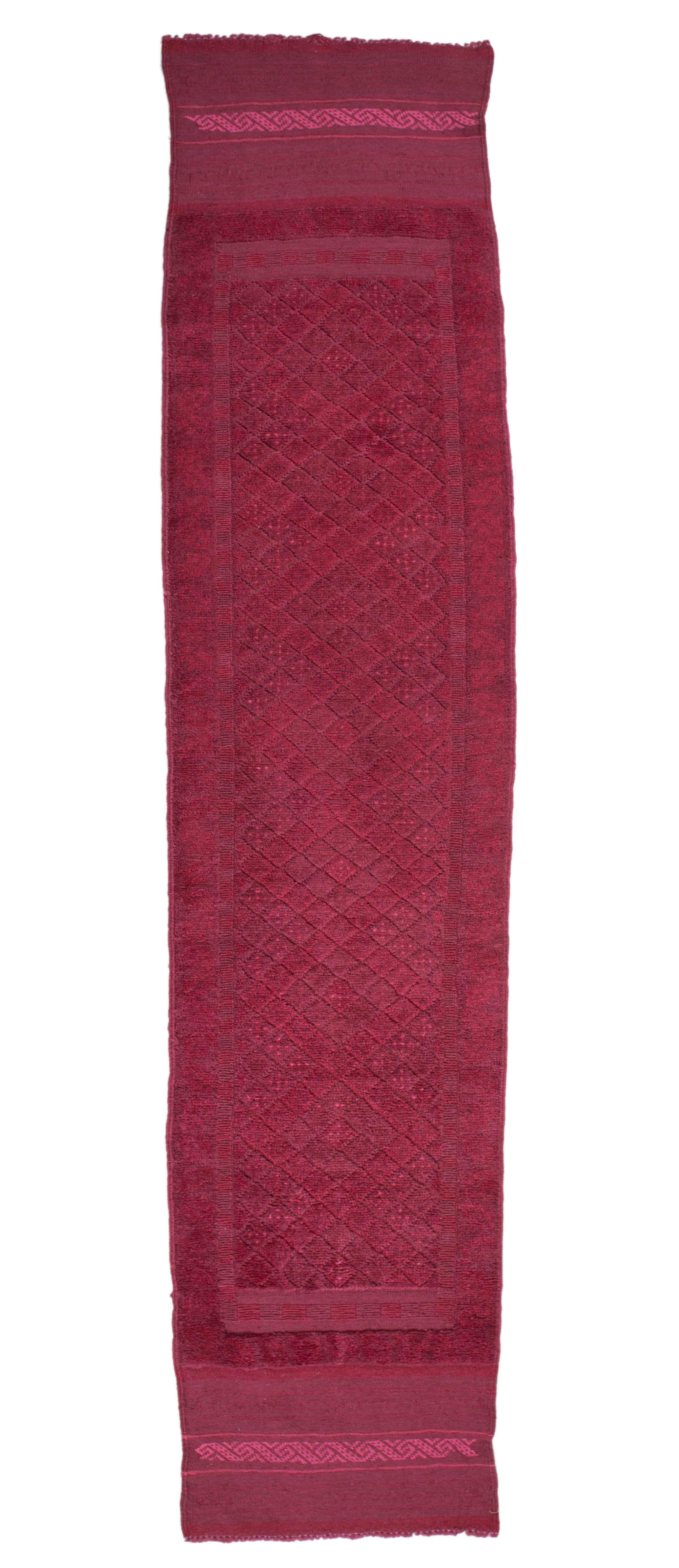 delightful Hot Pink Runner Rug Part - 7: 2×9 Overdyed Vintage Tribal Hot Pink Runner 2503