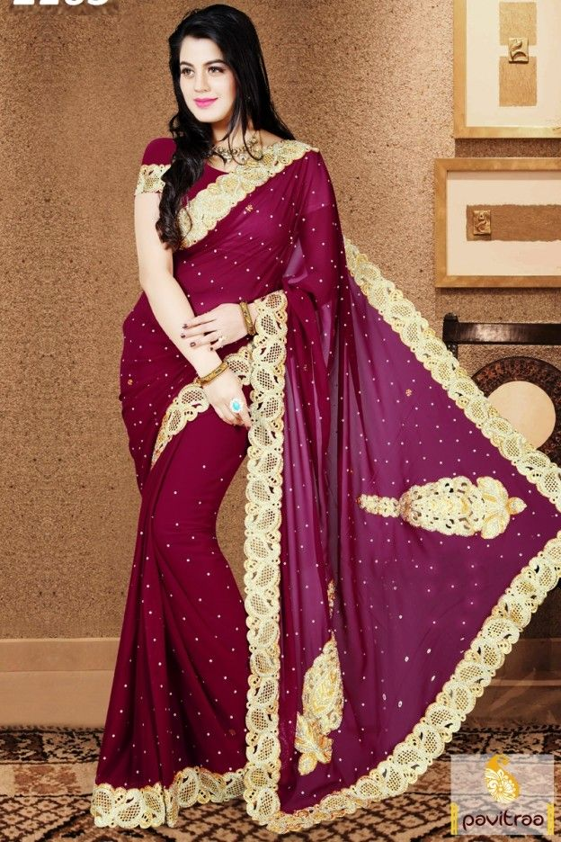 Where can you buy beautiful Indian sarees with fabulous designs and colors?