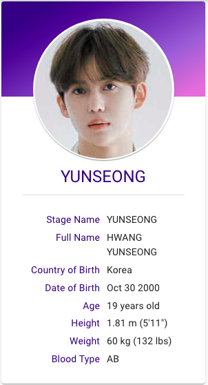 Hwang Yunseong Drippin Kpop Profiles Kpop Groups Korean Music