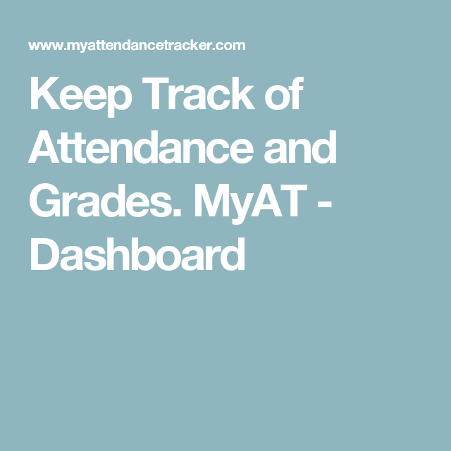 keep track of attendance