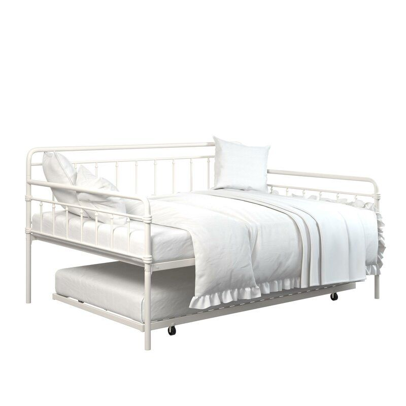 Minehead Daybed With Trundle Daybed With Trundle Twin Daybed