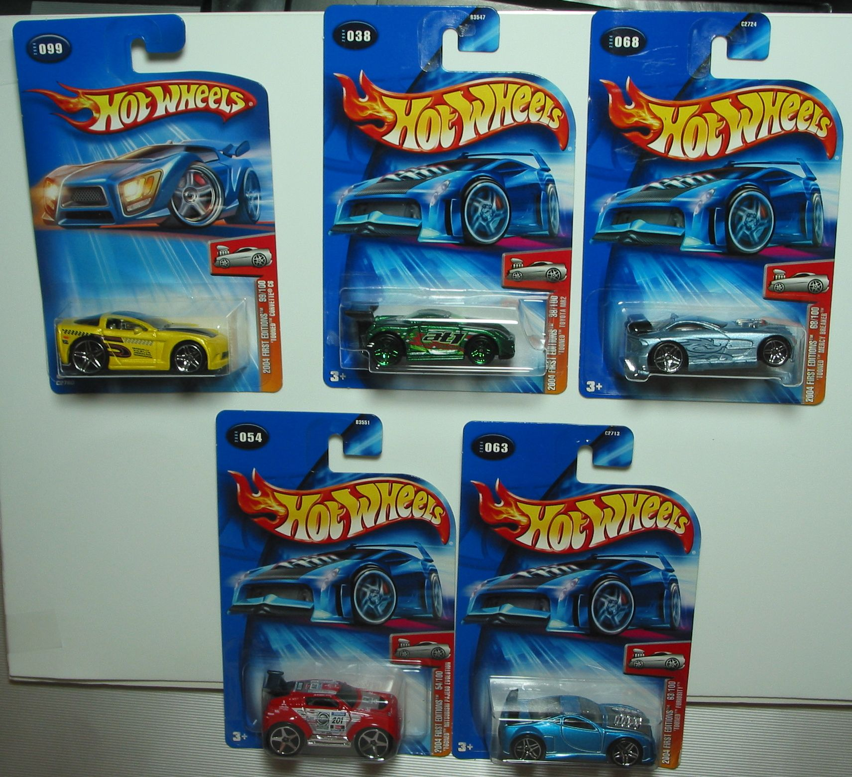 Mattel legends 1 24 1969 hot wheels twin mill concept car electronic - Hot Wheels Lot Of 5 2004 Tooned First Editions Found At Boundlessbargains Com