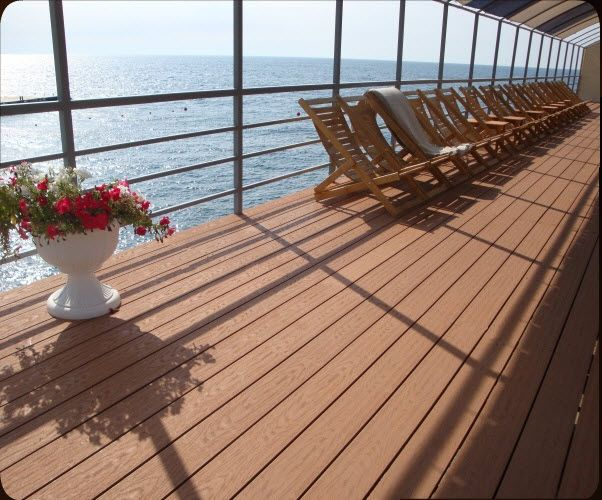 Wood Plastic Flooring For Outdoor Patio Engineered Wood