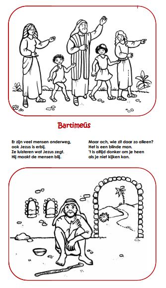 bartimeus children s church bijbel knutselen