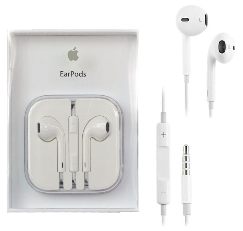Apple Earpods With Remote And Mic 3 5mm Md827zm B Earphone Headphones Apple