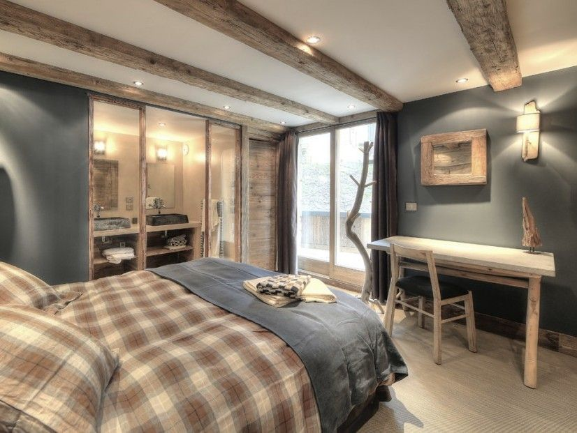 Stunning Deco Chambre Style Chalet Photos - lalawgroup.us ...
