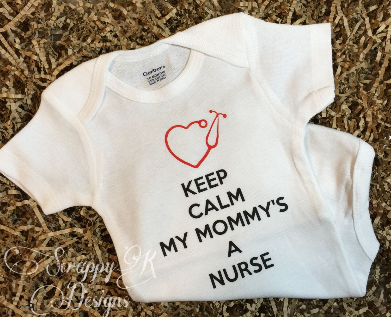 Clothing & Accessories Baby Gifts For All Keep Calm My Mom is a Nurse Baby Bib
