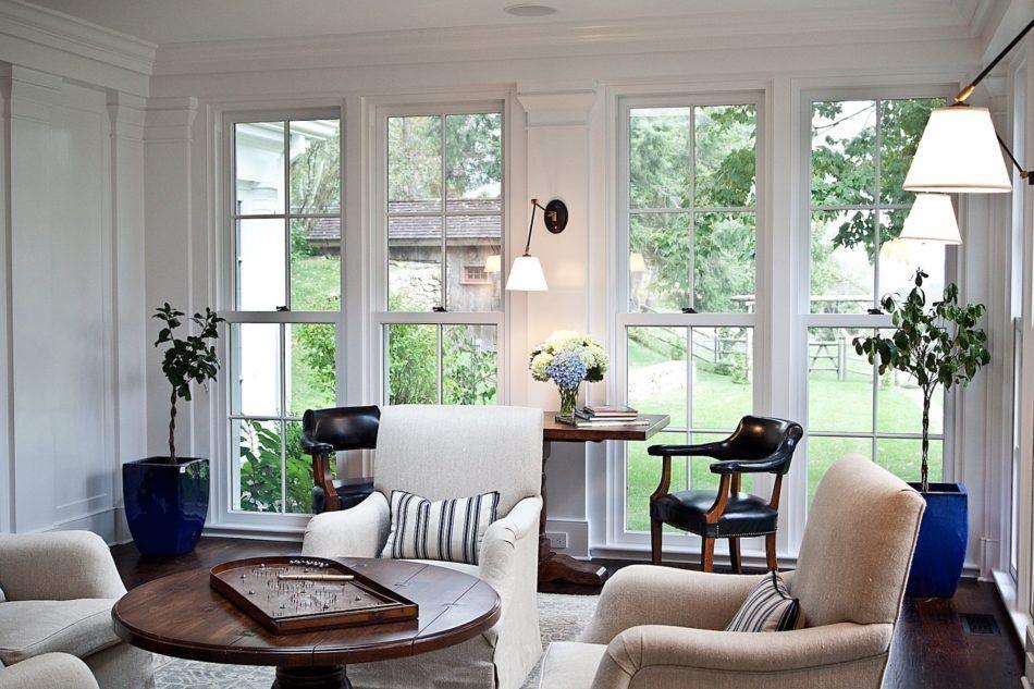 23 Exquisite New England Homes New England Homes Farm House Living Room Colonial Interior Design Living room new england design