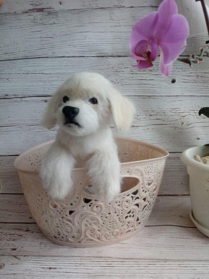 Labrador Crochet A Realistic Puppy Copy Dog Replica V 2020 G
