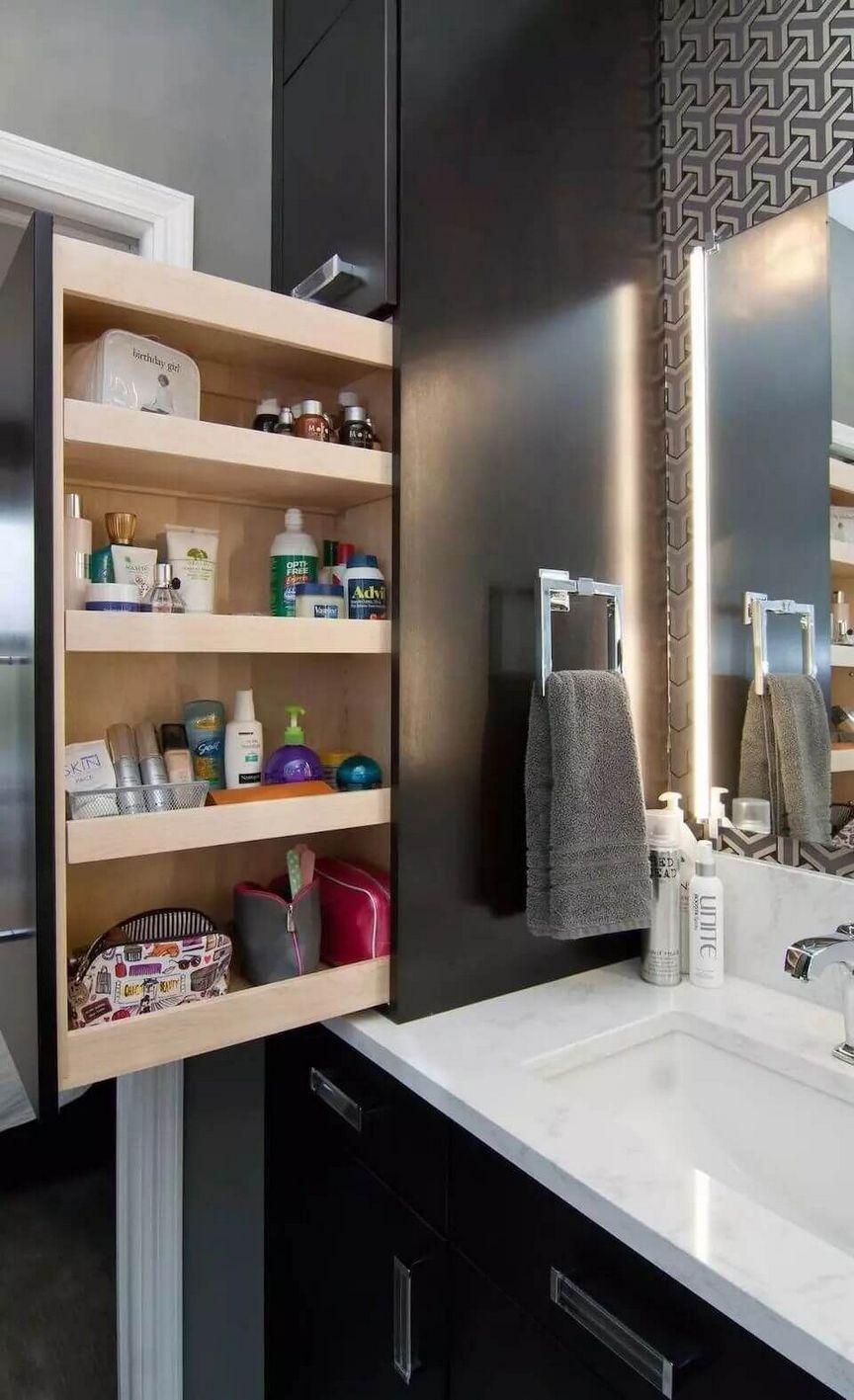40 Creative Diy Bathroom Storage Ideas For You Diy Bathroom Storage Bathroom Storage Cabinet Bathroom Design