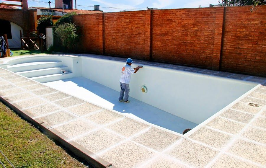 Revestimiento para interiores de piscinas agua de piedra - Revestimientos de interiores ...