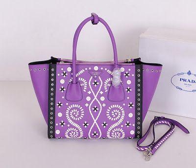 502f24db29 Prada Saffiano Embroidered Tote Bag BN2619E | Prada Bags | Bags ...
