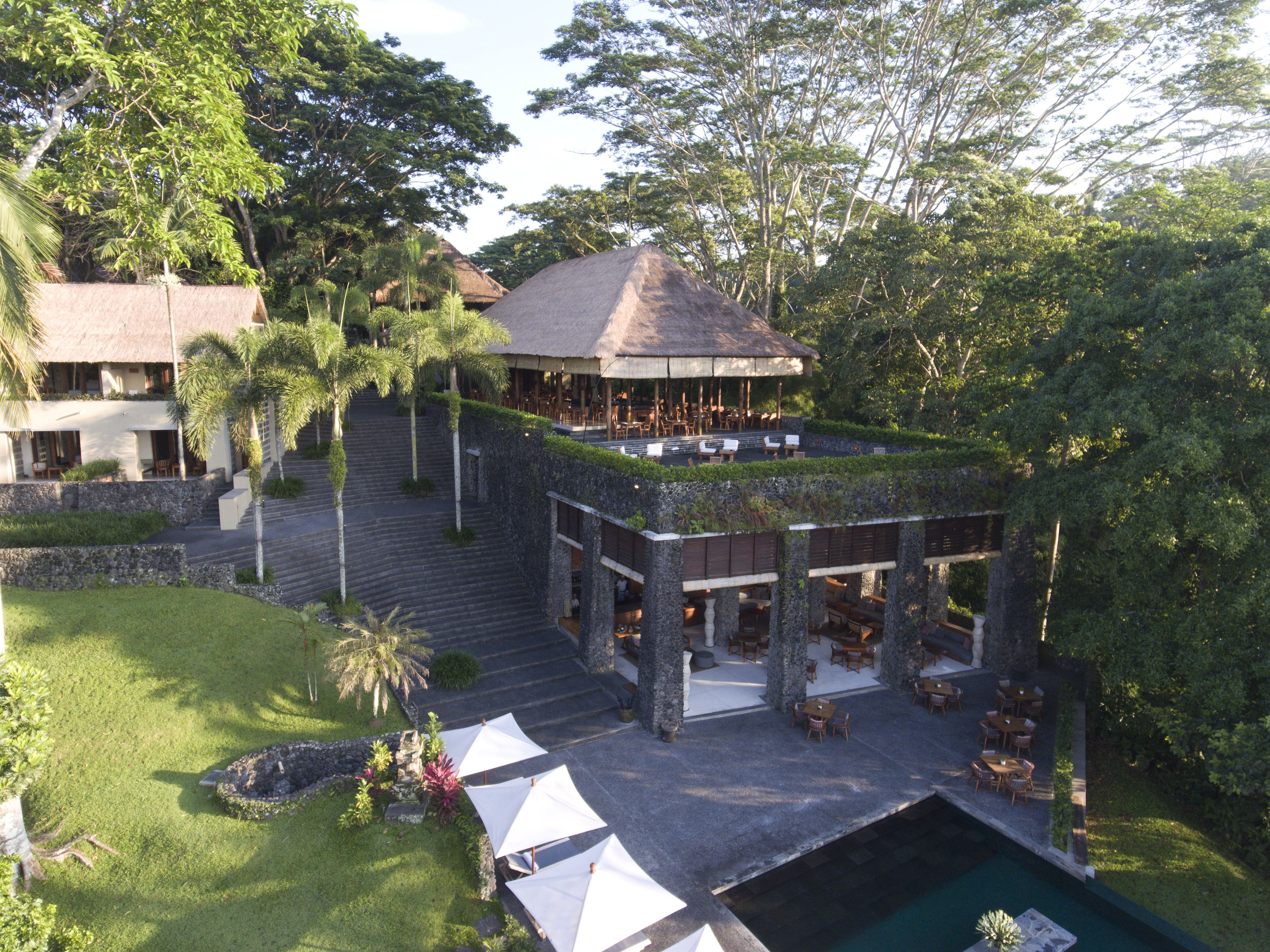 Alila Ubud Cabana Lounge in 2020 Ubud, Patio umbrella