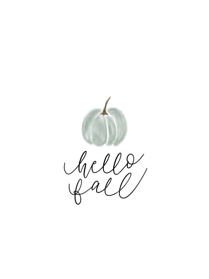 Hello Fall *Digital Download* — Sidney Hunter Design Co #happyfallyallwallpaper