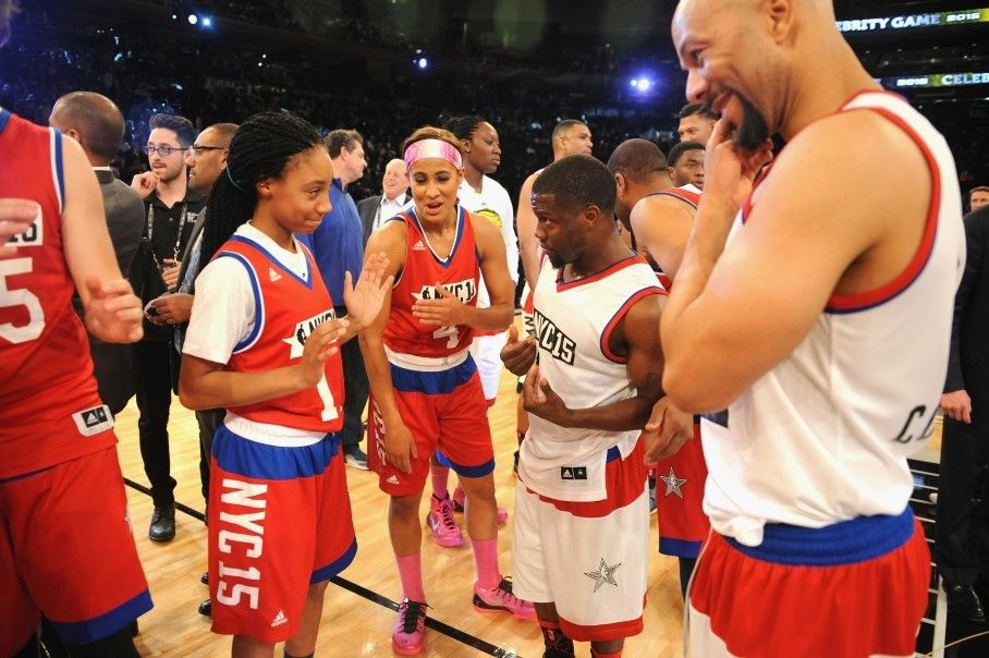 Watch Mo Ne Davis Shut Up Kevin Hart With A Sweet Spin Move Little League Kevin Hart All Star