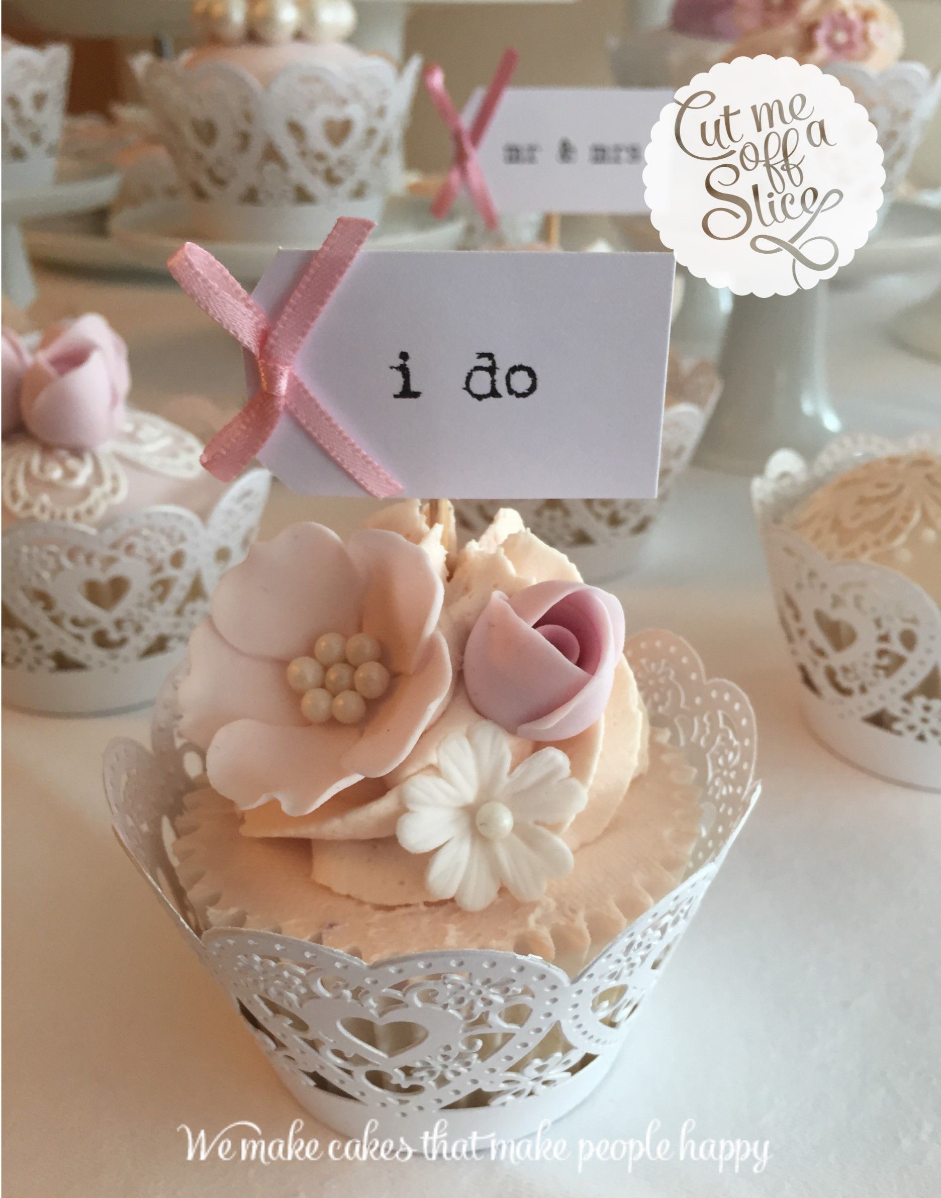 Hochzeit Cupcakes Cup Cakes Wedding Cakes Cut Me Off A Slice The Cake Makers
