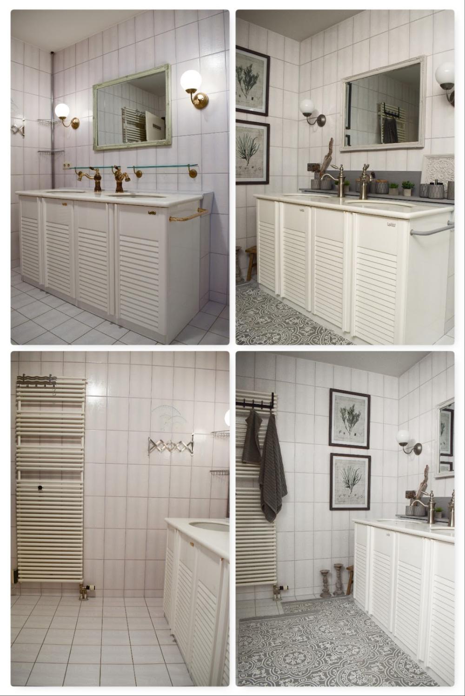 Verschönerung Badezimmer Ideen Deko Bad Renovierung selber ...