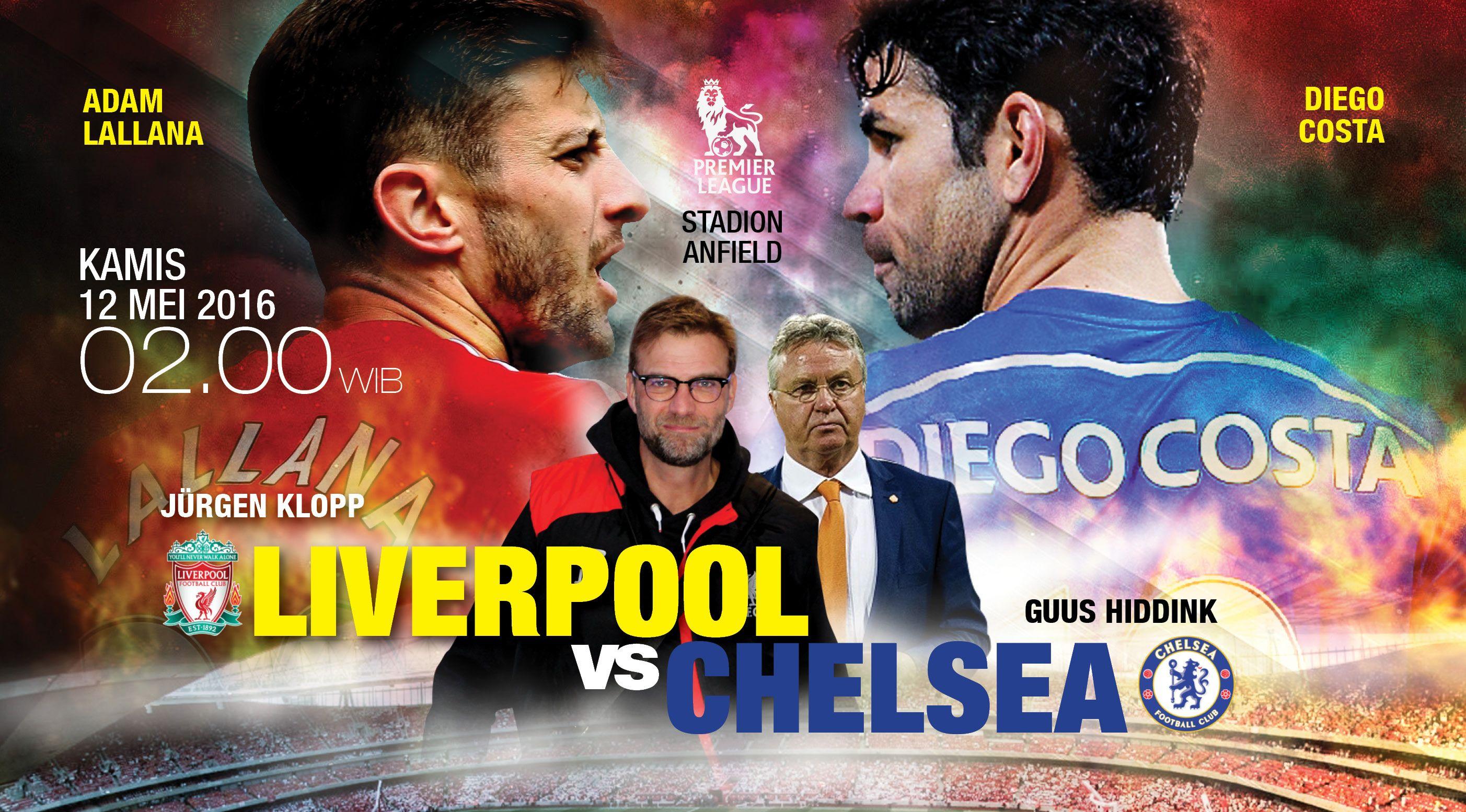Liverpool vs Chelsea (Design