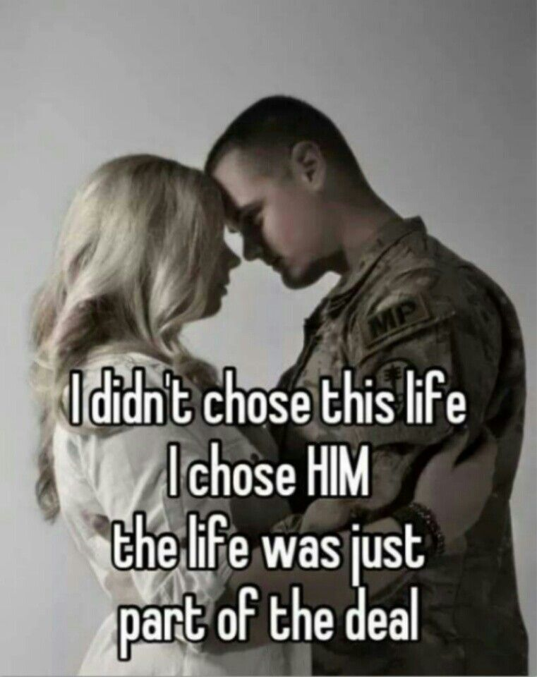 Dating someone in the military quotes pictures