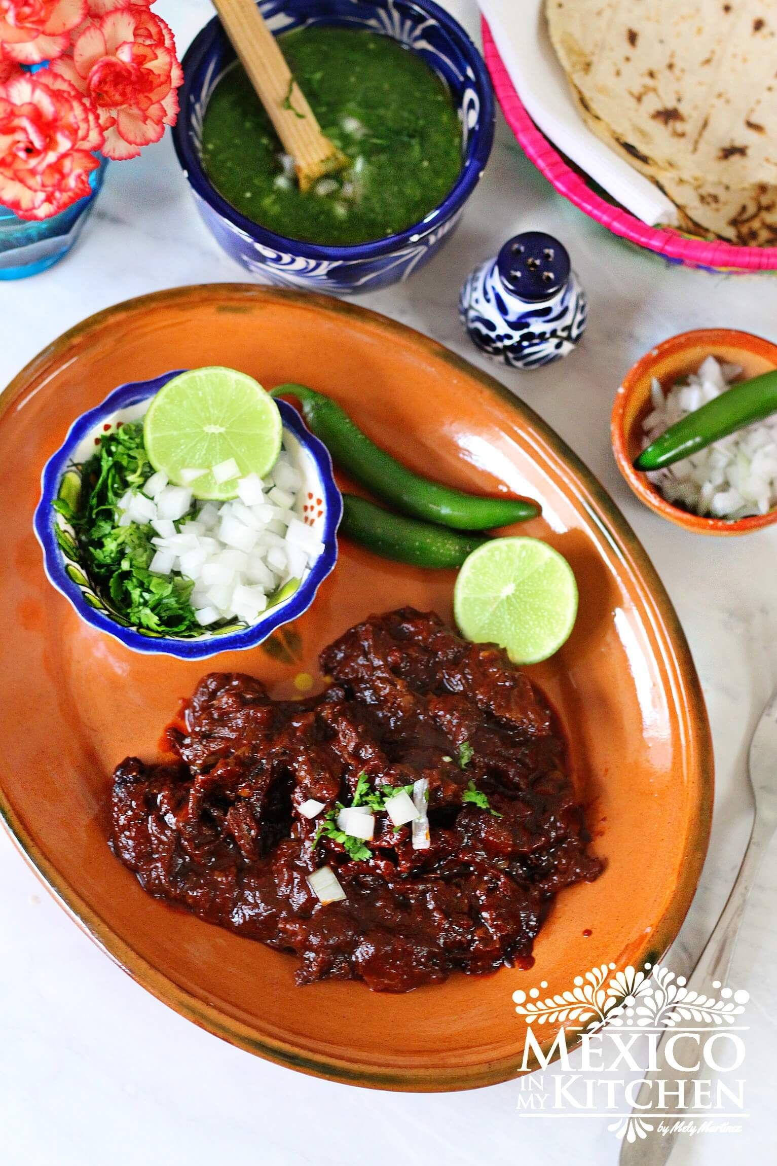 Red Mexican Beef Barbacoa Authentic Mexican Recipes Recipe Mexican Food Recipes Barbacoa Beef Mexican Food Recipes Authentic