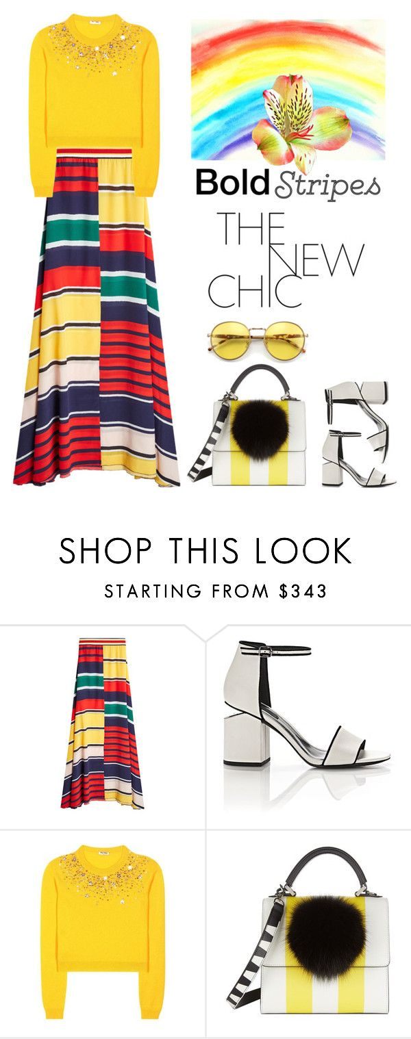 """""""Untitled #638"""" by m-jelic ❤ liked on Polyvore featuring Alexander Wang, Miu Miu, Les Petits Joueurs and Wildfox"""